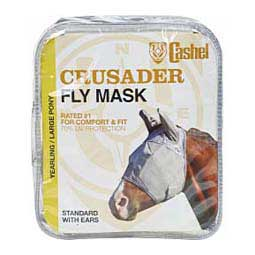 Yearling Crusader Pasture Standard Fly Mask with Ears