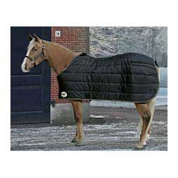 Black/Tan Comfort Cover Stable Horse Blanket