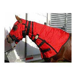 Red/Black Unlined Nylon Full Hood