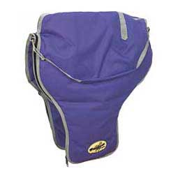 Western Saddle Carrier Bag Purple/Silver - Item # 34664