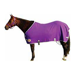 Purple/Silver Fleece Sheet