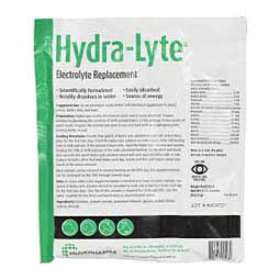 Hydra-Lyte Electrolyte Replacement for Young Calves, Lambs, Kids & Foals 5.76 oz - Item # 35134