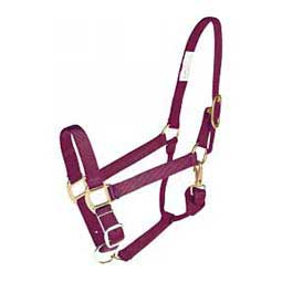 Burgundy Brookside Nylon Halter