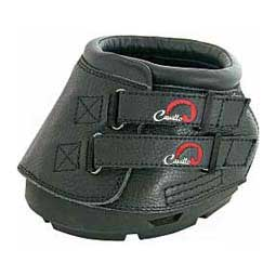 Simple Regular Horse Hoof Boots Black - Item # 35435