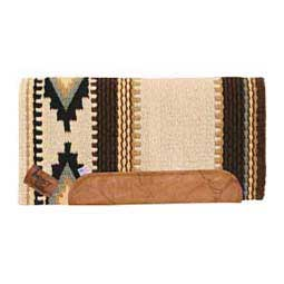 Cream/Brown/Mint Impact Gel Navajo Cowtown Saddle Pad