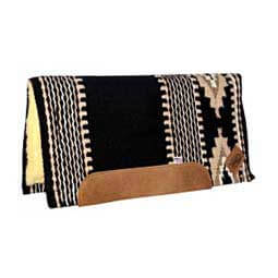 Navajo Cowtown Impact Gel Saddle Pad Black/Cream/White - Item # 35509