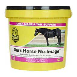 Dark Horse Nu-Image Hoof & Coat Support for Horses Select The Best