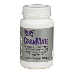 CranMate Chewable Tablets for Dogs and Cats 60 ct - Item # 35981
