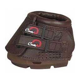 Simple Regular Horse Hoof Boots Brown - Item # 36489