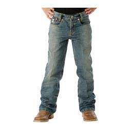 Little Boys Low Rise Jeans Medium Stonewash - Item # 36507