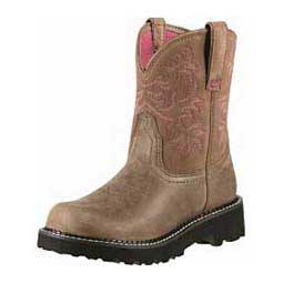 Brown Bomber Womens Fatbaby Cowgirl Boots