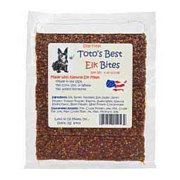 Toto's Best Bites Dog Treat Elk 4 oz - Item # 37055