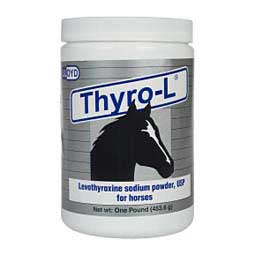 1 lb Thyro-L Levothyrozine Sodium Powder for Horses