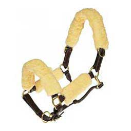 Fleece Horse Halter Set Natural - Item # 37788