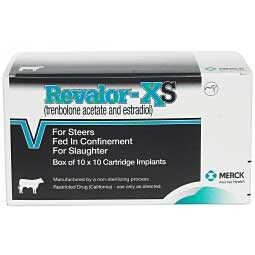 Revalor-XS for Steers Merck