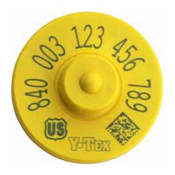 840 USDA FDX EID Ear Tags Y-Tex