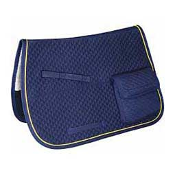 All Purpose Trail and Endurance English Saddle Pad Navy - Item # 38651