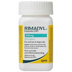Rimadyl for Dogs 100 mg 60 ct - Item # 388RX