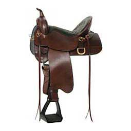 6862 Big Springs Easy-Fit Western Horse Saddle High Horse