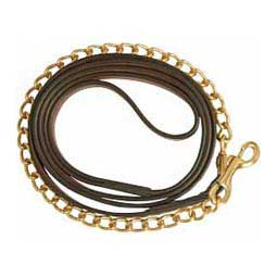 Triple Stitch Break Away Leather Horse Lead Brown - Item # 39487