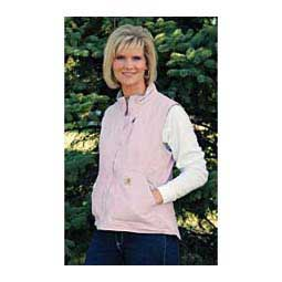 Sandstone Mock Neck Sherpa Lined Womens Vest Faded Petal - Item # 39511