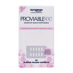 Proviable® DC Capsules for Dogs & Cats Nutramax Laboratories