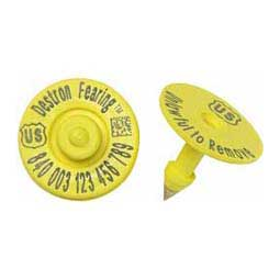 840 USDA RFID Ear Tags Yellow - Item # 39568