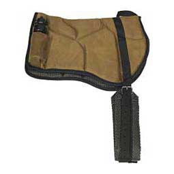 Best Friend Bareback Western Saddle Pad Brown - Item # 39607