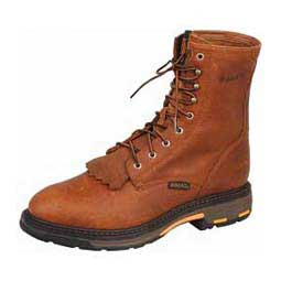 "Mens Workhog Lace Up 8"" Work Boots Golden Grizzly - Item # 39736"