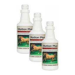 3 x 16 oz (240 days) Ration Plus Feed Supplement for Horses