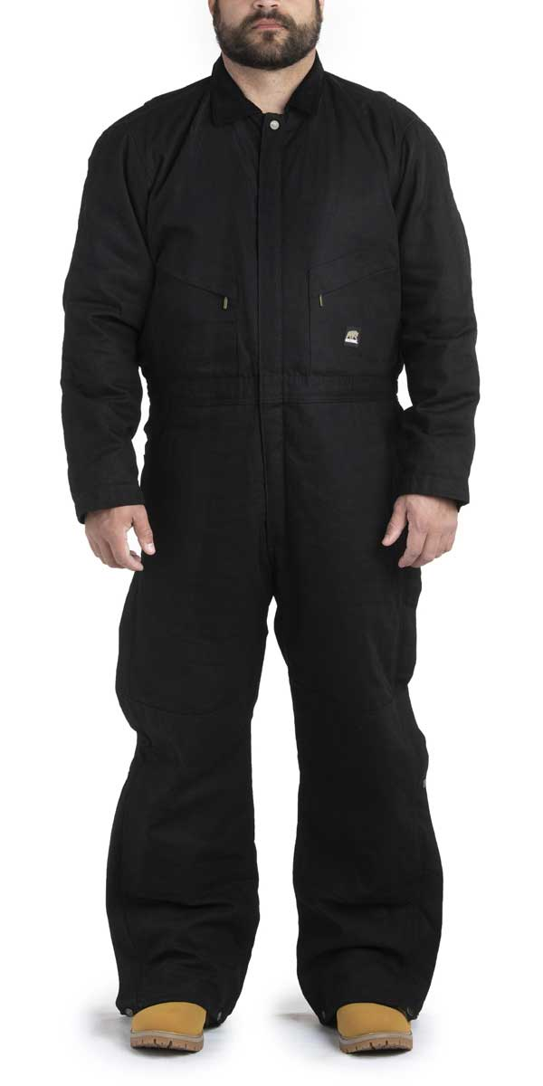 Deluxe Insulated Mens Coveralls Short Berne Apparel Mens