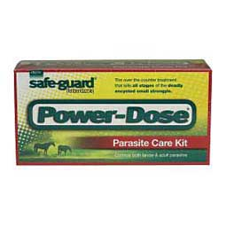 Safe-Guard Power-Dose Paste Horse Wormer 5 x 57 gm - Item # 40087