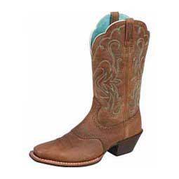 "Legend 11"" Cowgirl Boots Distressed Brown - Item # 40289"