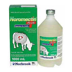 Noromectin Plus Injection for Cattle 1000 ml - Item # 40311