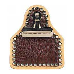 Exotic Exhibitor Clip Brown Alligator - Item # 40598