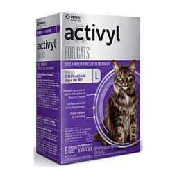 Activyl for Cats & Kittens Topical Flea Treatment 6 ct (over 9 lbs) - Item # 40630