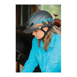 Dakota Trail Duratec Recreation Horse Riding Helmet Dakota Badlands - Item # 40766