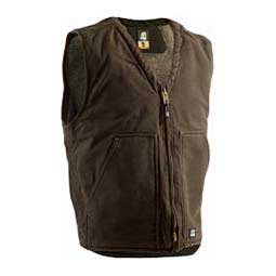 Washed V-Neck Mens Vest