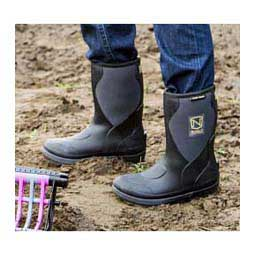 Muds Stay Cool Mid Womens Chore Boots Black - Item # 41110
