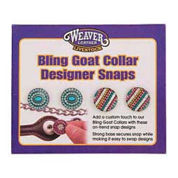 Bling Goat Collar Designer Snap Set Beaded - Item # 41149
