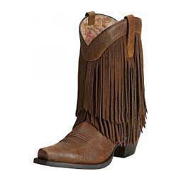 "Gold Rush 9"" Cowgirl Boots Terra Brown - Item # 41208"