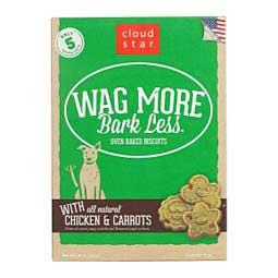 Wag More Bark Less Oven Baked Biscuits Dog Treats Chicken/Carrots - Item # 41259