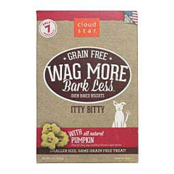 Wag More Bark Less Grain Free Oven Baked Biscuit Dog Treats Pumpkin - Item # 41262