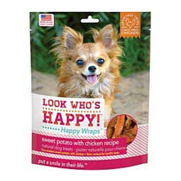 Look Who's Happy - Happy Wraps Dog Treats Chicken/Sweet Potato 4 oz - Item # 41654