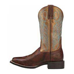 "Round Up Wide Square Toe 11"" Cowgirl Boots Bronze - Item # 41762"