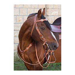 Snap Tack Browband Horse Headstall Headstall Golden Brown - Item # 41834