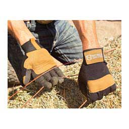 Hay Bucker Pro Mens Gloves Black/Tobacco - Item # 41890