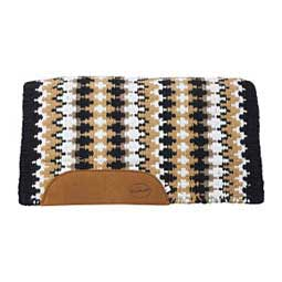 Heavy Weight Navajo Wool Saddle Pad Black/Tan - Item # 41940