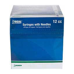 Disposable Syringe w/ Needle for Adequan IM Equine 100 ct (12 cc w/20 ga x 1 1/2'') - Item # 42022