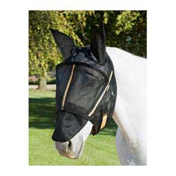Guardsman Fly Mask w/Ears Black - Item # 42039C